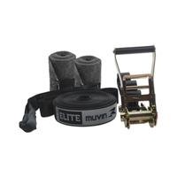 Slackline Elite Muvin Slk-0201 / 15m / Suporta Até 3000 Kg