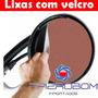 Disco De Lixa Velcro 225 Mm Com Furos P/ Lixadeira De Teto