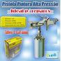 Pistola Pintura Alta Pressão Bico1,5 Mm Reparo Frete Grátis.