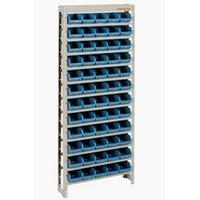 Estante Organizadora Gaveteiro Com 60 Gavetas Nº 3 Azul