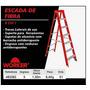 Escada De Fibra 8 Em 1 Worker 5 Degraus