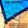 Super Lona 500 Micra 18x8 M Polietileno Plástica Impermeável