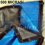 Lona Plástica Azul Impermeável 500 Micras 6x4 Com Argolas