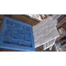 Forma Em Silicone Para Mosaico Em Gesso. Mod. Quadrado 28x28