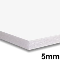 Placa Foam Board 80x100cm Branco 5mm Contracole Papel Espuma