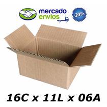 50 Caixas De Papelão 16 X 11 X 06 Tipo 0 Correio Pac Sedex