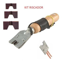 Kit Riscador/frisador De Borrachas P/ Chinelos E Pneus