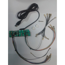Placa Usb/ps3 Com Terminais Para Montar Controle Arcade.
