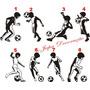 Adesivo Decorativo Jogadores De Futebol