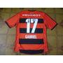 Camisa Flamengo Usada Jogo 17 Gabriel Tamanho M