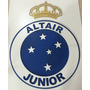 Painel Escudo Do Cruzeiro Com Coroa Personalizado