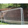 Rede De Futebol Nylon Society 6,20 Trave De Gol - Fio 2- Par