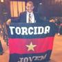 Mini Bandeira Torcida Jovem Do Flamengo Novo