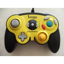 Game Cube: Controle Icon Novo! Com Função Turbo! Raridade!