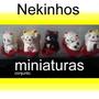 Gato Da Sorte Maneki Neko Miniaturas