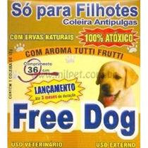 Coleira Antipulgas Free Dog Para Filhotes