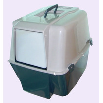 Sanitário / Banheiro Higiênico P/ Gatos. Bloqueia Os Odores