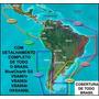 Mapa Nåuti©o Brasil Bluech?t G2 Vision Vsa001r - Promoção