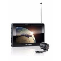 Navegador Gps Multilaser Tracker Iii Tela 7.0 Tv E Câmera