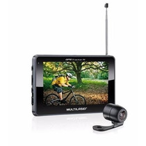 Navegador Gps Multilaser Tracker Iii Tela 4.3 Tv E Câmera