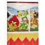 Toalha Para Mesa De Festa Babado De Crepom Angry Birds