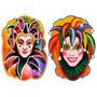 Painel Decorativo Salão De Carnaval - Pierrot E Colombina
