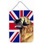 Leonberger Com Wall Bandeira Inglês Union Jack Britânico O