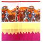 Toalha Para Mesa De Festa - Babado De Crepom Power Rangers