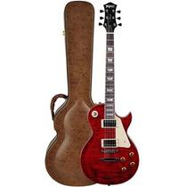 Guitarra Tagima Tlp Flamed Les Paul Com Case - Vermelho