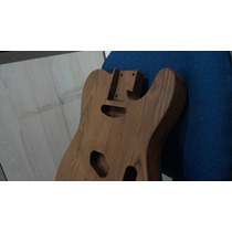 Corpo Telecaster Em Ash Hot Rod Redwood - Exclusivo!!!