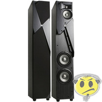 Caixa Vertical Jbl Studio 190 Torre Acústica Par Loja Cred
