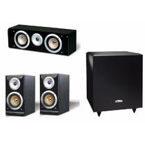 Kit 3.1 Pure Acoustics Qx900s + Qx900c + Subwoofer Lord