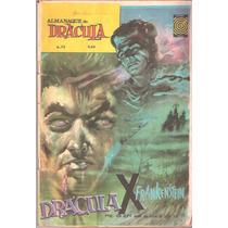 Almanaque De Drácula Nº 6-73-outubro 1973-ed. Taika