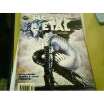 Revista Quadrinhos Heavy Metal Ano2 N°10 Sem Poster