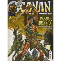 Conan O Bárbaro Nº 08 Revista Mensal Mythos Mc