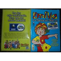 Gibi Emília E A Turma Do Sítio No Fome Zero Nº 1- Globo 2001