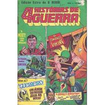 4 Histórias De Guerra - Ed. Extra De O Herói - Ebal -1980
