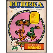 Eureka, 03 - Editora Vecchi - 1974 - Raridade (gibizada!)