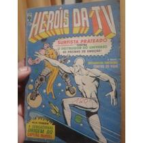 Revista Em Quadrinhos Herois Da Tv N·29 1981 Editora Abril