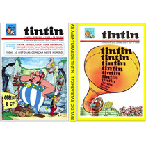 2 Dvds 210 Revistas Digitalizadas- As Aventuras De Tintin