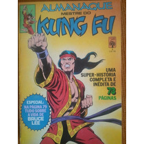 Almanaque Mestre Do Kung Fu Numero 1 Editora Abril