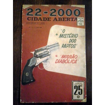 22-2000 Cidade Aberta - No,-3 -rge- 1966 - Raridade