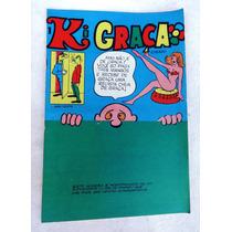 Hq: Ki Graça Nº 1 - Editora Roval - Piadas E Cartuns Cômicos