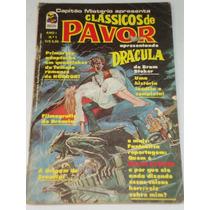 Clássicos De Terror Nº 1/1976. Drácula Capitão Mistério Rara