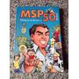 Livro Hq Mangá Msp50 Artistas Maurício De Souza 194 Páginas