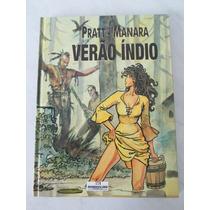 Verão Índio- Manara/pratt- Ed Luxo- Cp Dura- Meribérica-2003