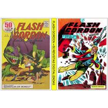 1 Dvd - Flash Gordon +50 Revistas Digitalizada (antigas)
