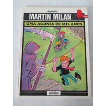 Martin Milan - Agonia De Mil Anos- Capa Dura- Bertrand- 1981