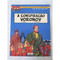 Blake E Mortimer - A Conspiração Voronov - Meribérica - 2000