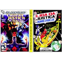 Liga Da Justiça 2 Dvds Com + De 400 Gibis Digitalizado